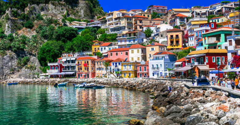 Parga waterfront