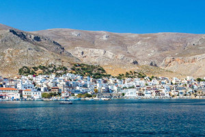 A view of Kalymnos in the Dodecanese.